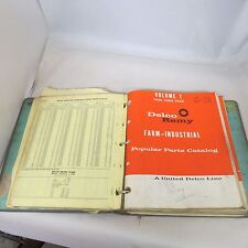 Binder of Delco Remy Catalogs 1960's - price list, parts