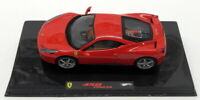 Hot Wheels 1/43 Scale Diecast Model Car P9953 - Ferrari 458 Italia - Red
