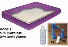 *NEW* Super Single Boyd Tranquility 1 ~ 60% Waveless Waterbed Mattress Bundle