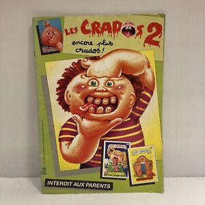 Album ancien type panini Les Crados n° 2 Avimages incomplet avec 65 images