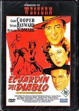 EL JARDÍN DEL DIABLO de Henry Hathaway. España tarifa plana envíos DVD: 5 €