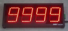 "4 DIGIT PRODUCTION COUNTER DISPLAY in 4"" High LED Digits"