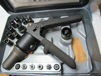 FSI. D-100-MIL-1 Hydraulic blind rivet fastener installation kit w case   A512.3