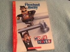 FLUSHED AWAY MOVIE NOVEL paperback