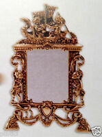 standspiegel messing spiegel vintage kosmetikspiegel. Black Bedroom Furniture Sets. Home Design Ideas