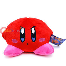 Nintendo Red Kirby Adventure  Plush Doll 6in Soft Stuffed Haning Figure Doll