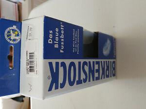 Birkenstock  Blue Footbed insole EUR 44 Wide US Mens 11-11.5 Wide in Box