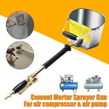 Mortar Cement Spray Guns With Bucket Wall Sprayer Plaster Sprayer Cement Spray