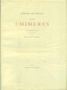 Les Chimeres De Nerval Gerard Librairie De Medicis En 1947