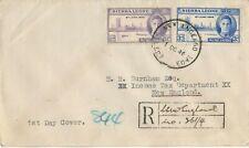 Ganzsache gelaufen 1946 SIERRA LEONE New England