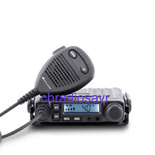 Midland M-Mini AM/FM multimedia CB 2 Pin Enchufe 12 voltios Cb Radio