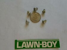 (5pk)NOS Lawn Boy OMC Slotted Screw. Part 609003