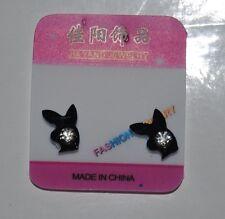 1 Pair Non Piercing Clip on Magnetic Magnet Ear Stud Men Women Fake Rabbit