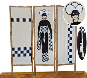 "A&O Room Divider Folding Screen ""Domino"""