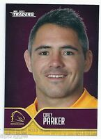 2015 NRL Traders Faces of the Game (FOTG 3 / 48 ) Corey PARKER Broncos