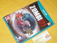 ZOMBI U Nintendo Wii u NUOVO SIGILLATO UFFICIALE ITALIANO NO IMPORT