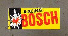 BOSCH Racing Spark Plug Vintage Sports Car Racing Team Decal Le Mans Nurburgring