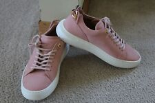 Authentic, Buscemi Women's 50mm Leather Low-Top $675 Pink US 7.5 - 8