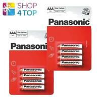 8 PANASONIC ZINC CARBON AAA LR03 BATTERIEN BLISTER 1.5V MICRO MN2400 E92 NEU
