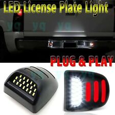 [RED OLED Neon Tube] LED License Plate Light For 99-13 Chevy Silverado Avalanche