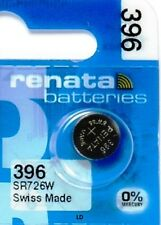 396 RENATA SR726W WATCH BATTERY New packaging Authorized Seller