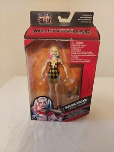 "DC Comics Multiverse Suicide Squad Harley Quinn 6"" Action Figure Doll NIB NIP"