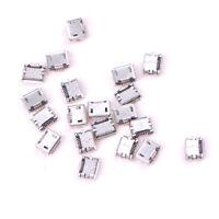 20pcs Micro USB Typ B Buchse Buchse 5-Pin Stecker SMD Löten 4H