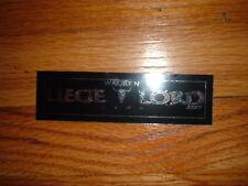 Wacken Germany Heavy Metal Festival 2000 LIEGE LORD Sticker Power True Concert
