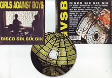 "GIRLS AGAINST BOYS "" Disco six six six "" (CD) 1996"