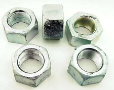 "(1) Zinc Plated 2-12 Hex Nut -12 Pitch 2"" Hot Formed Fine Thread"