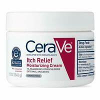 Moisturizing Cream for Itch Relief 12 Ounce Dry Skin Itch Relief Cream with Pram