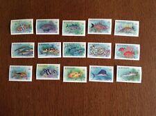 Kiribati Stamps Fish Definitives Complete Set 1990. SG 326-40