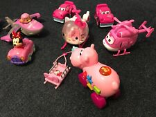 USED Car Toys Lot - PINK Girls - 10 pieces
