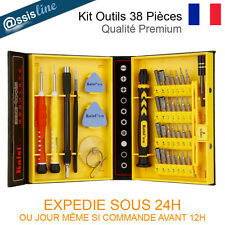 KIT OUTILS TOURNEVIS 38 PCS GALAXY TAB ASUS ZENPAD IPAD ACER REPARATION TABLETTE