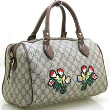 Ladies Fashion Embroidery Flower Messenger Tote Causal Printed Shoulder Bag UK