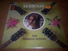 "The Honolulu Guitars LP Vinyl ""Hawaii"" Power Apple Honey Series DS 398 Sealed"