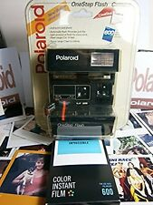 MEGA RARE comme Scellé N E W Polaroid ONE STEP Flash 600 instant camera Rayure Rouge