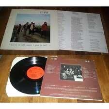 GAM - La Vie Est Belle, Maar 'T Gaat Zo Snel Rare Belgium LP Folk Pop W/Insert