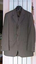 Davide Perna abito in lana 100's tg 52 giacca pantaloni vestito tessuto REDA