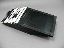 Fidelity Elite 4x5 cut film holders.  (Lot of 5)