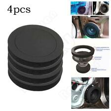 "6.5""Car Door Speaker Bass Ring Foam Woofer Pad Noise Sound Wave Accessories 4pcs"