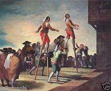POSTAL GOYA LOS ZANCOS MUSEO PRADO PAINTING POSTCARD PAINTER PICTURE ART TP10456