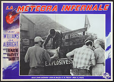 CINEMA-fotobusta LA METEORA INFERNALE g. williams, l. albright, J. SHERWOOD