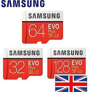 Samsung Micro SD Card SDHC EVO 95MB/s UHS-I Class 10 TF Memory Card HD 4K 📷