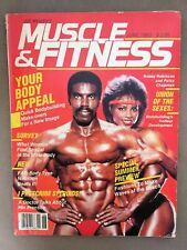 MUSCLE & FITNESS bodybuilding magazine / Robby Robinson + Patsy Chapman / 06-83