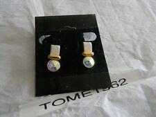 Premier Designs ODYSSEY silver crystal earrings RV $24 free ship w/bin