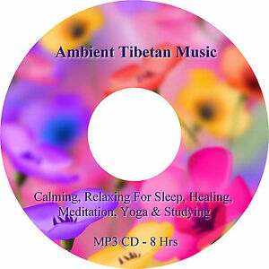 8Hours Ambient Tibetan Healing & Sleep Music MP3 CD Relaxation Stress Relief Spa