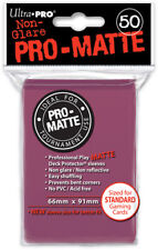 Pro-Matte Sleeves (50ct) - Blackberry Ultra Pro GAMING SUPPLY BRAND NEW ABUGames