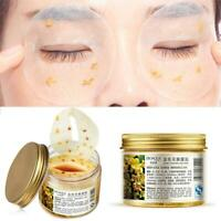 80Pcs/Bottle Gold Osmanthus Eye Mask Eyelid Patch For Anti-Wrinkle Dark Circles