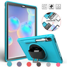 "Hybrid Heavy Duty Defender Tablet Case For Samsung Galaxy Tab S6 10.5"" SM-T860"